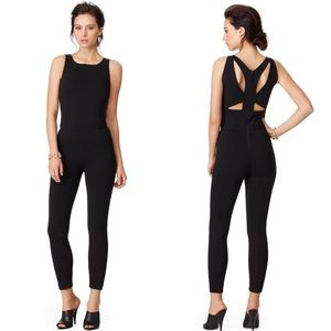 Narciso Rodriguez Black Harness Jumpsuit Size 38